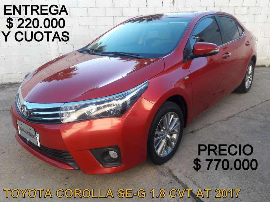 Toyota Corolla 2017 - 38000 km
