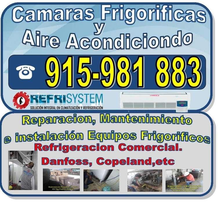 Técnico Refrigeradoras, Cámaras Frigoríficas, Aire Acondicionado