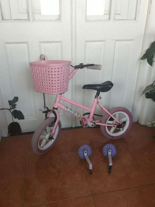 Vendo Bici de Nena Rod 12