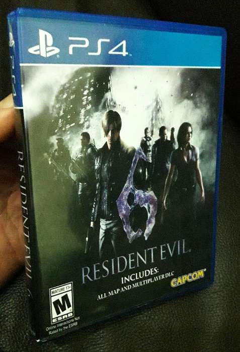 Juego Resident Evil 6 Ps4 S/.48 Soles