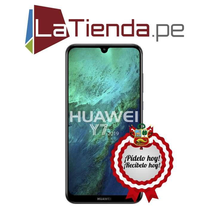 53ebd6ee81e Huawei Y7 2019 - cámara trasera dual de 13MP 2MP con asistencia IA