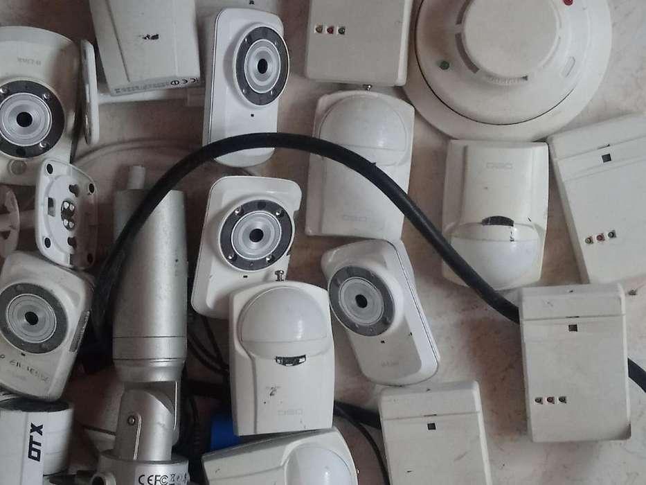 Lote Camaras,sensores, 95.000