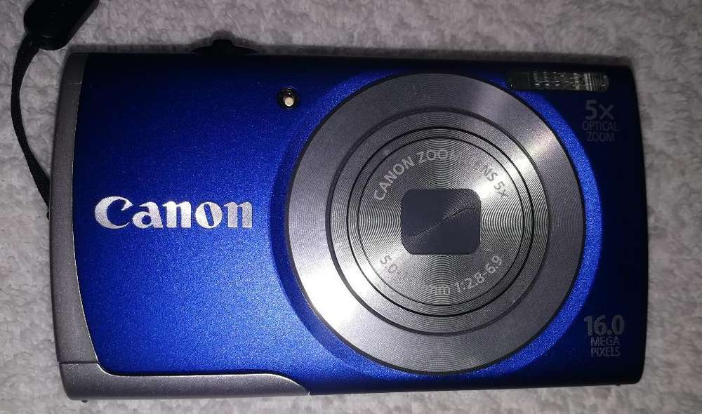 Camara <strong>digital</strong> Canon A2600 16 Mp