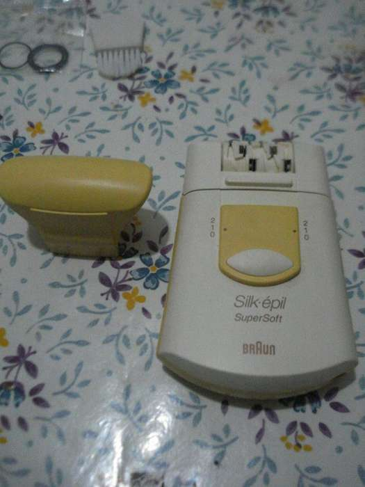Depiladora Silkepil Super Soft 210 Braun Funcionando Impec
