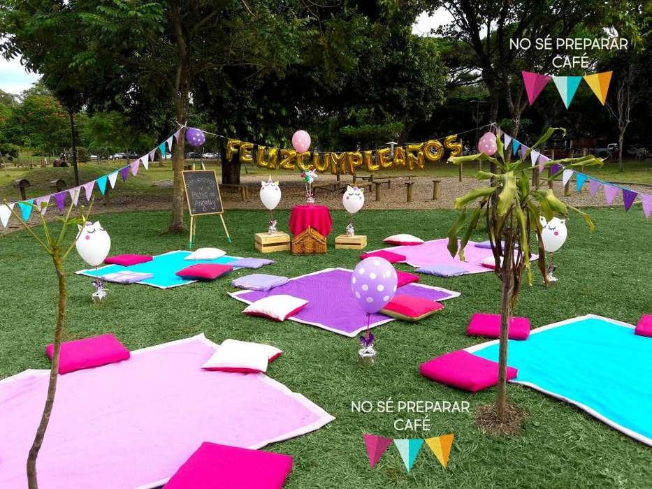 Pícnics para divertirse en familia cumpleaños románticos celebraciones despedidas sorpresa