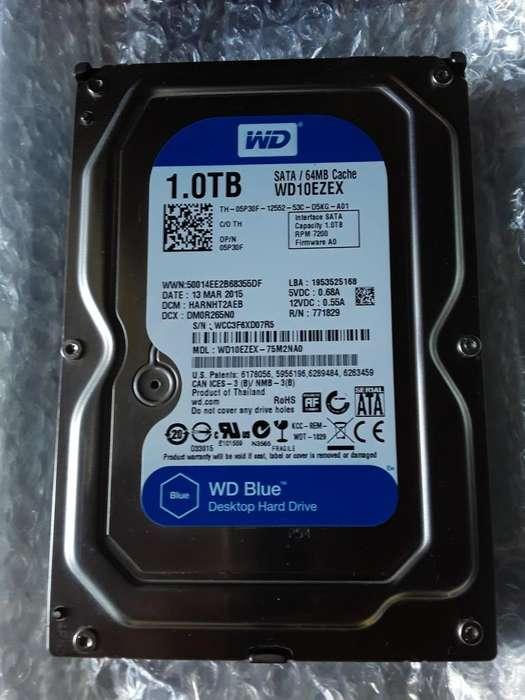 DISCO DURO DE 1.0TB WESTER DIGITAL DE 7200 RPM ORIGINAL