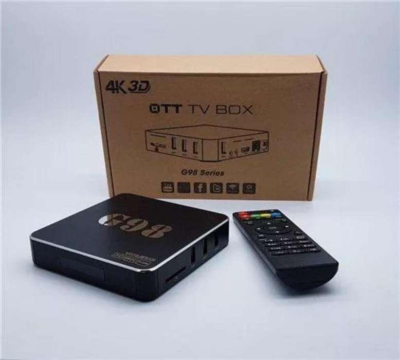 Tv Box Convierte Tu Tv en Un Smart Tv