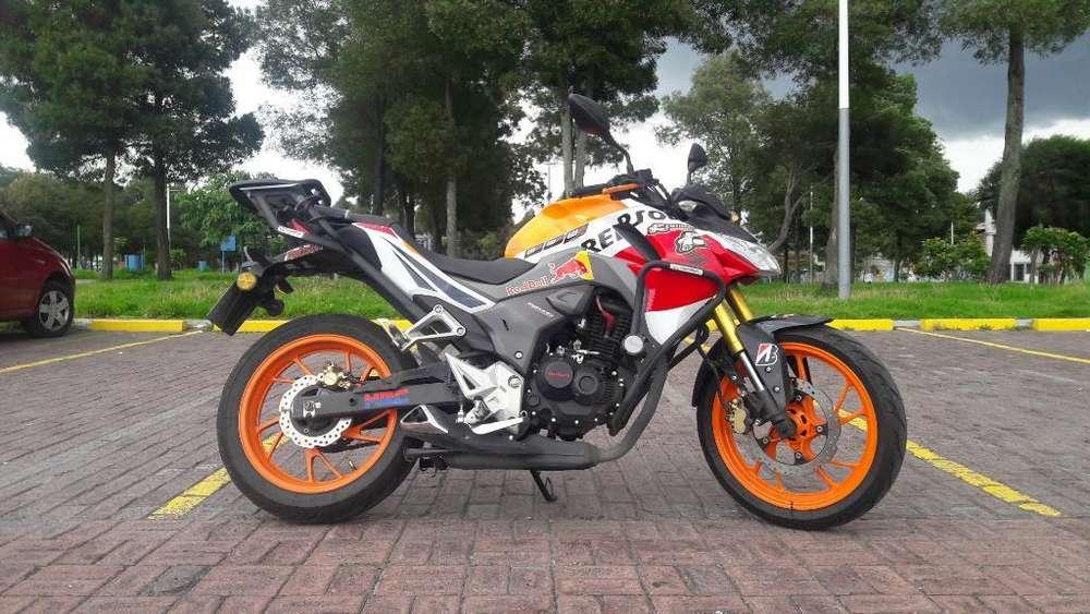 Moto <strong>honda</strong> Cb190r Original Repsol