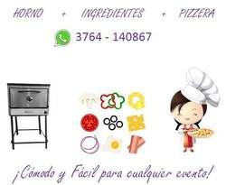 Pizza Party a Domicilio, Servicio de Catering para cualquier evento