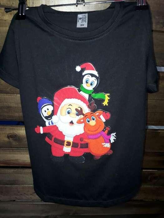Camisetas Navideñas con Luces para Famil