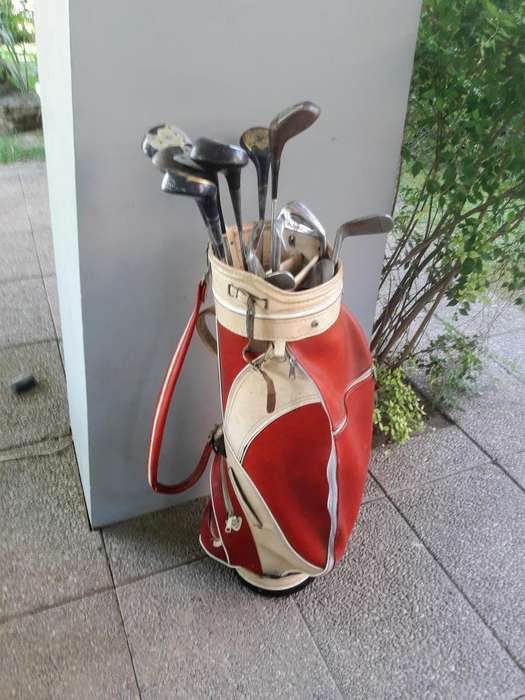 Juego de Palos de Golf con Bolso