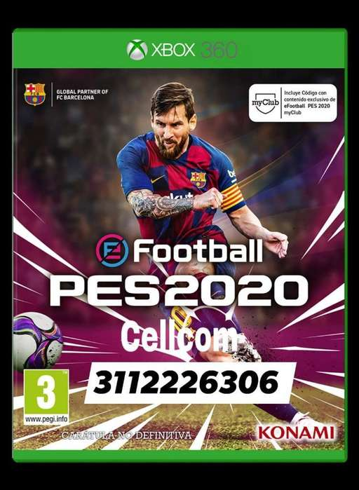 Pes 2020 Xbox 360 Rgh 5.0 Original