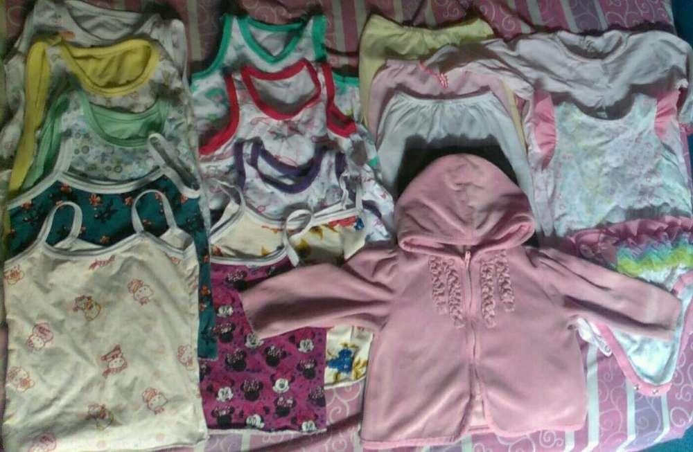 Lote de <strong>ropa</strong> de Niña Talla 6 Y 9 Meses