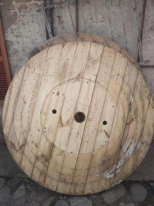 carretel de madera