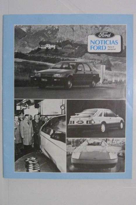 Revista Noticias Ford 1984