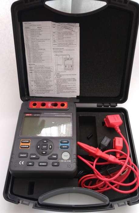 Medidor de Aislamiento Uni-t Ut511