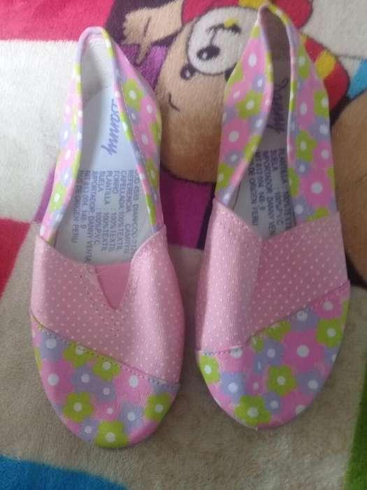 Zapatos para Niña Talla 30