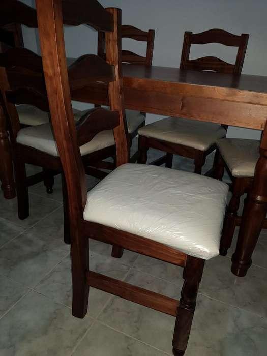 Vendo Juego de Mesa con 6 <strong>silla</strong>s