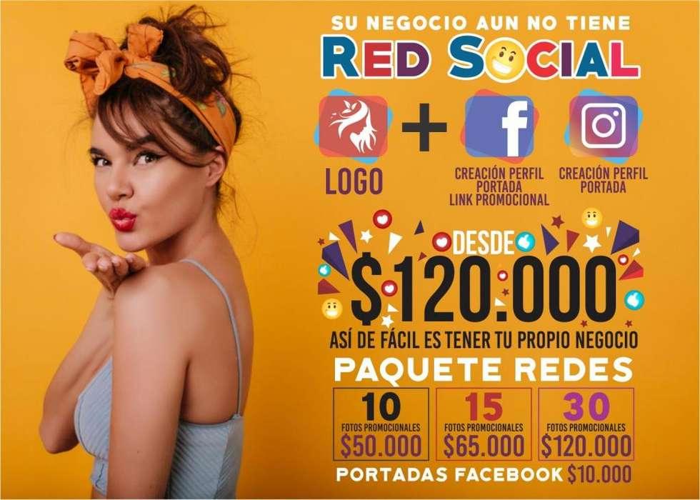Creación de logos personales logotipos Publicidad negocios empresas redes sociales