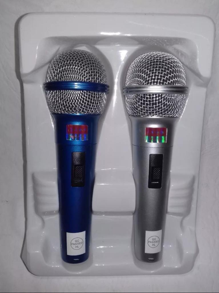 2 Micrófon Profesional Dynamic New Wvngr