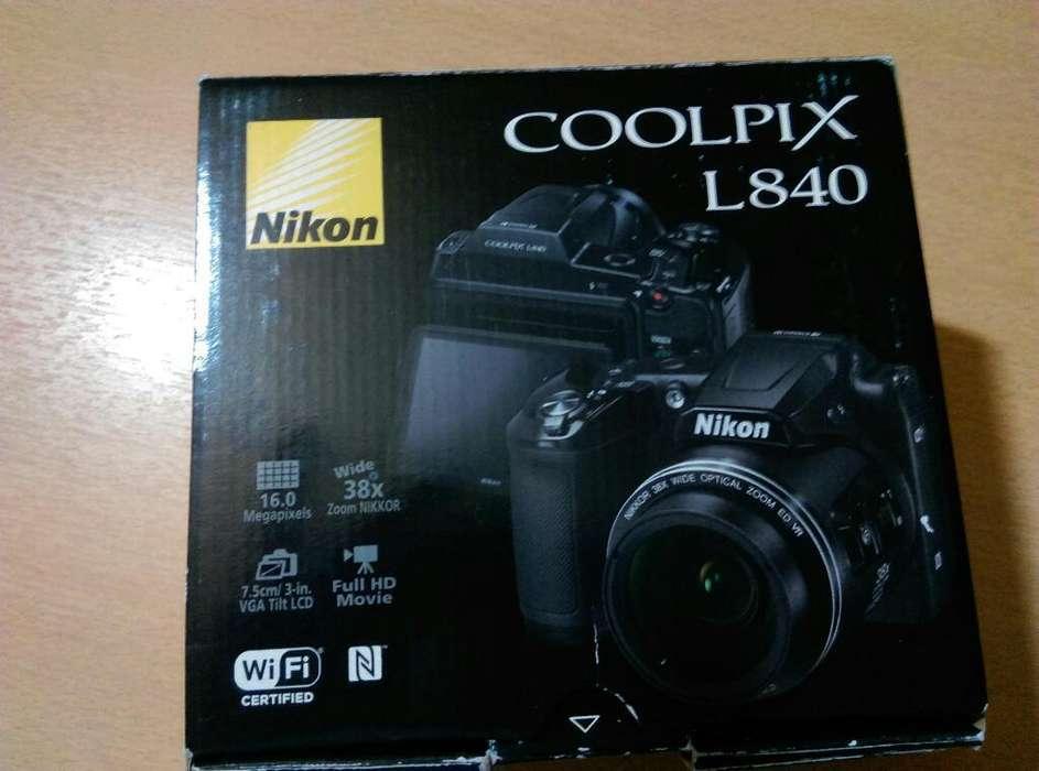 Camara Nikon Coolpix L840 Mas Tripode