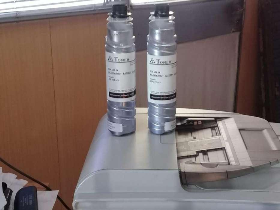 Tonner Para Fotocopiadora RICOH MP 301 SPF