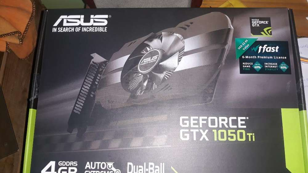 Placa de Video Geforce Gtx 1050 Ti