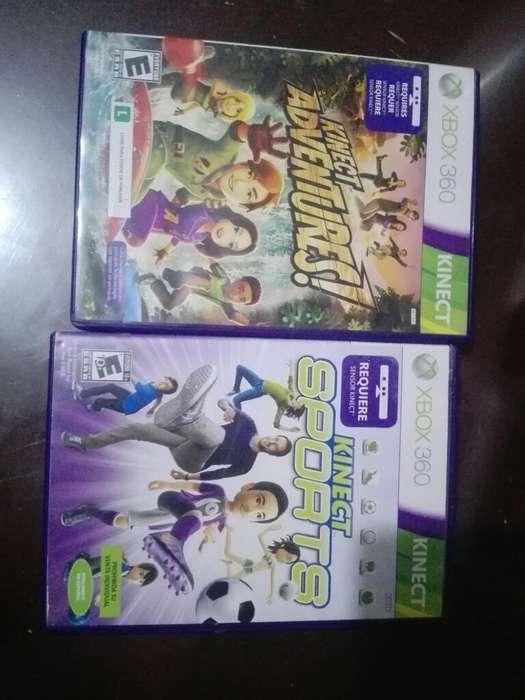 Kinet Xbox 360 2 Juegos Originales