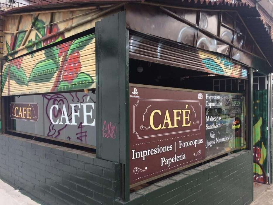 Negocio en Bogotá Café Internet - Cafetería, papelería