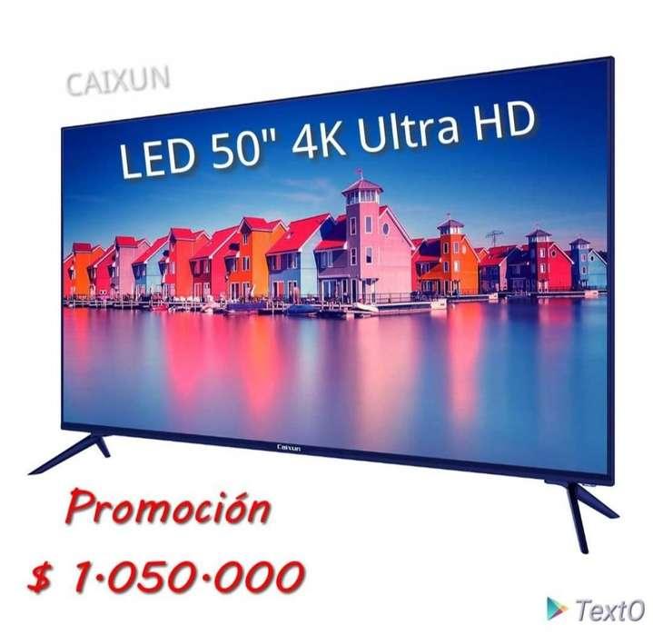 Televisor 50 pulgadas 4K Ultra HD Smart TV,