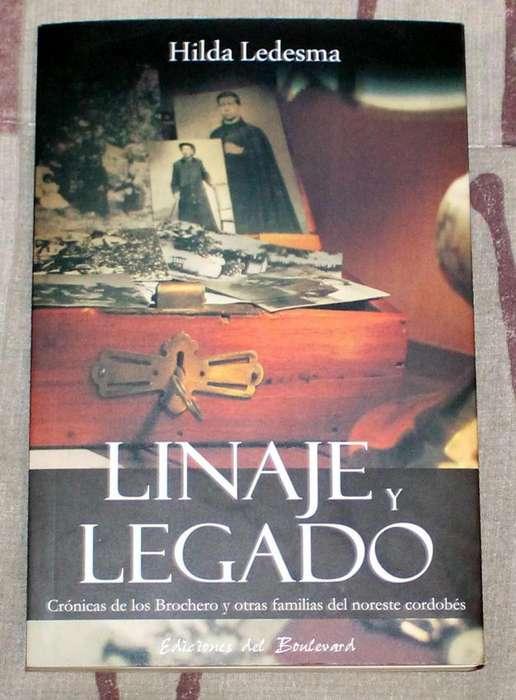 Libro Linaje y Legado del Cura Brochero Hilda Ledesma
