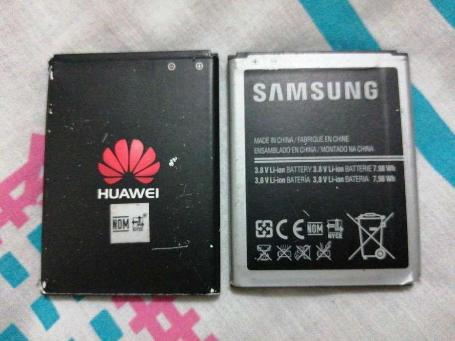 Batería Huawei Y Samsung 10/10