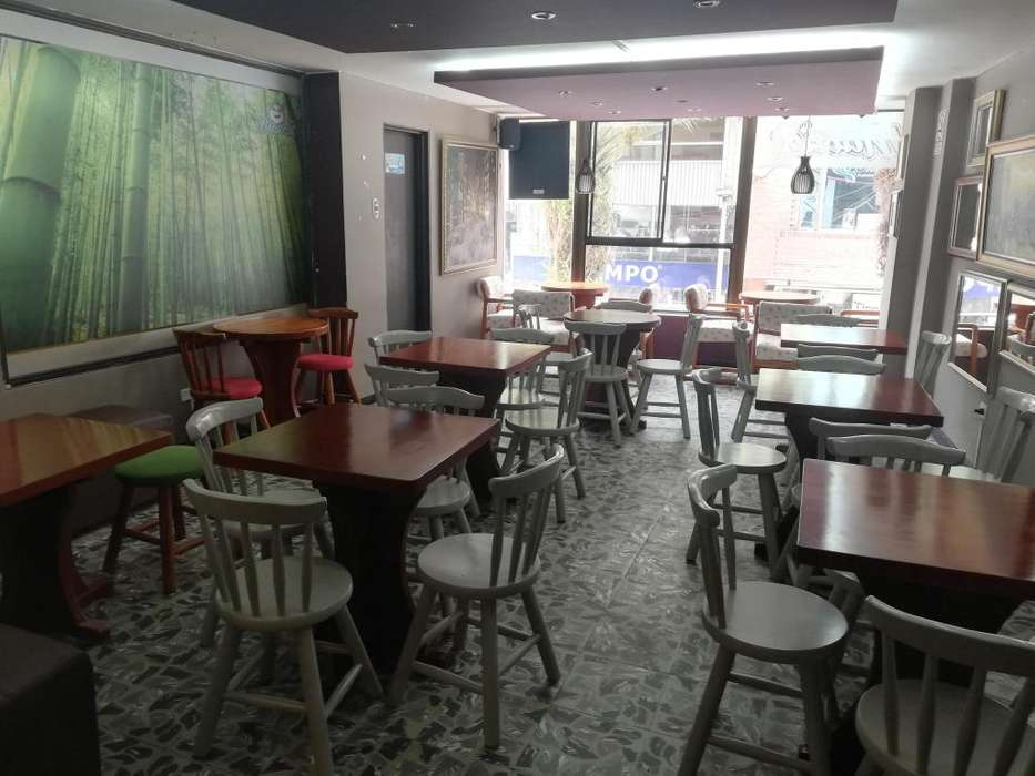 SE VENDE CAFÉ <strong>bar</strong> MAKAOS UBICADO EN EL CENTRO DE SOGAMOSO