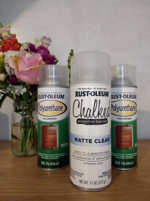 OPORTUNIDAD ÚNICA! CHALKED PROTECTIVE TOPCOAT
