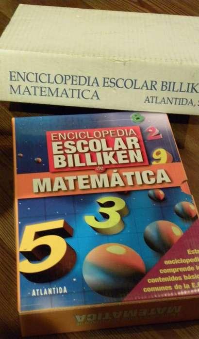 Enciclopedia Escolar Billiken de Matematicas excelente para los niños