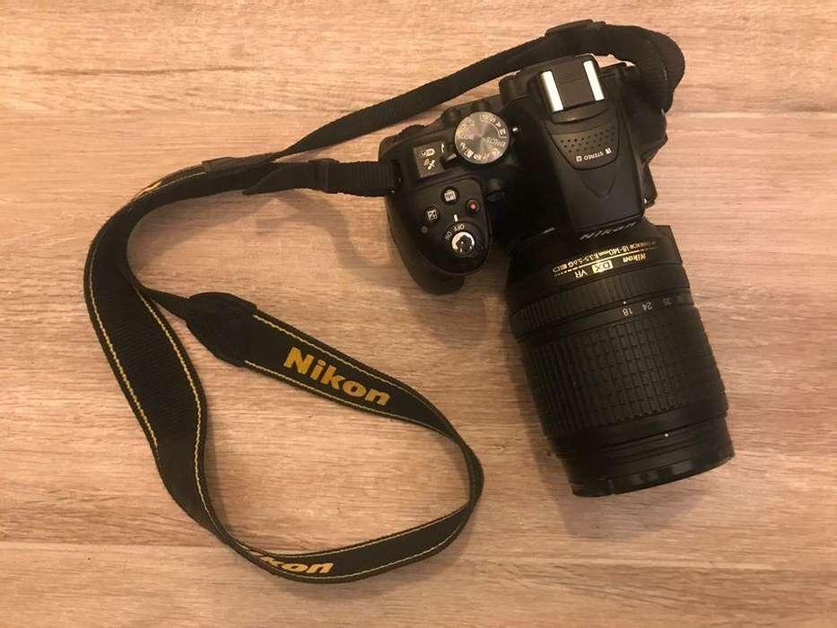 Nikon D5300 Lente 18-140 mm Accesorios