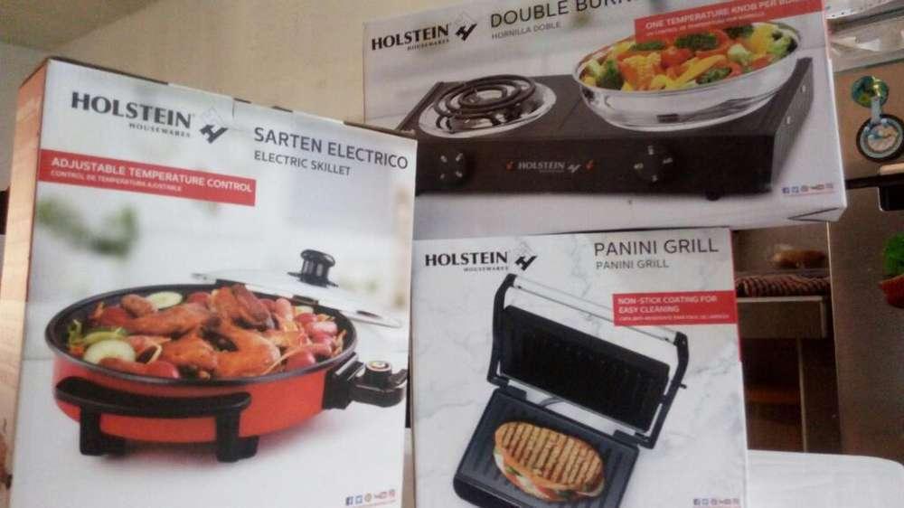 Combo(cocina Y Sarten Electrica, Sandwi)