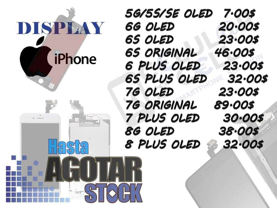 Display Pantalla Lcd iPhone 4 4s 5 5s 6 6s 7 8 Plus X !! ALTA CALIDAD !!
