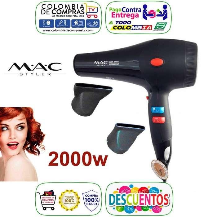 Secador Cabello Profesional 2000w Mac Styler 2 Boquillas, Nuevos, Originales, Garantizados...