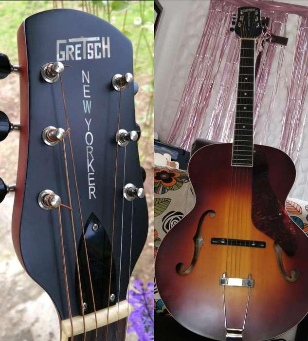 Gretsch Archtop Electro.acustica Gibson