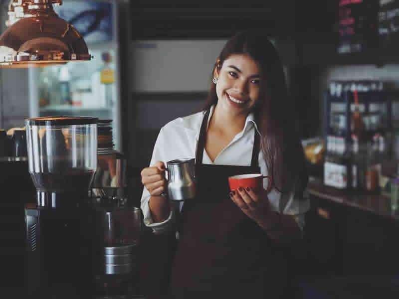 Barista o con conocimientos en café