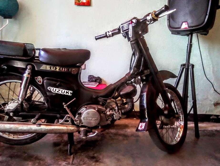 Moto Fr 80 Sólo Tarjeta Libre de Multas