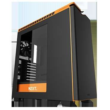 Gabinete Gamer Nzxt H440 Black-orange