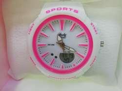 d558b56d4ff2 Reloj Dama deportivo resistente al agua Reloj Dama deportivo resistente al  agua ...