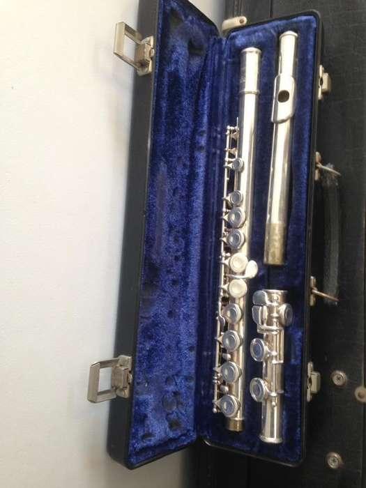 flauta traversa selmer bundy II americana