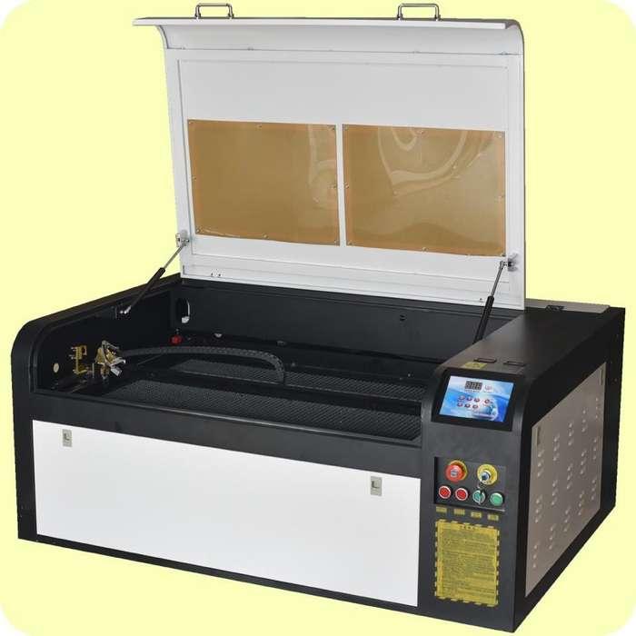 Máquina de corte y grabado láser mdf madera acrílico fomix