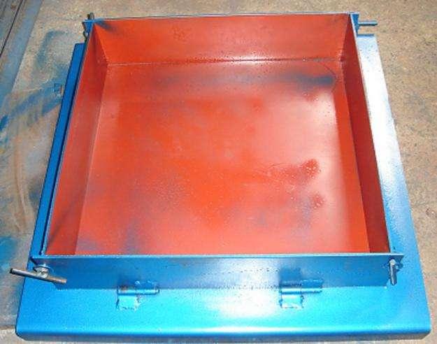 Vendo Moldes RPC 997525964 de metal para pruebas de SHOTCRETE