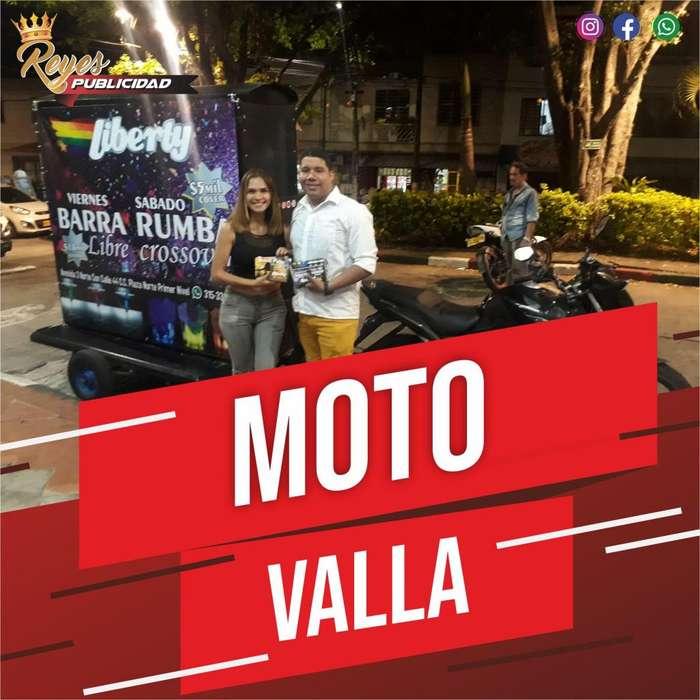 MOTO VALLA JINGLES CUÑAS BTL GRABACIONES DE AUDIO ANIMADOR LOCUTOR PERIFONEO VOLANTEROS IMPULSADORES PROMOTORES CALI