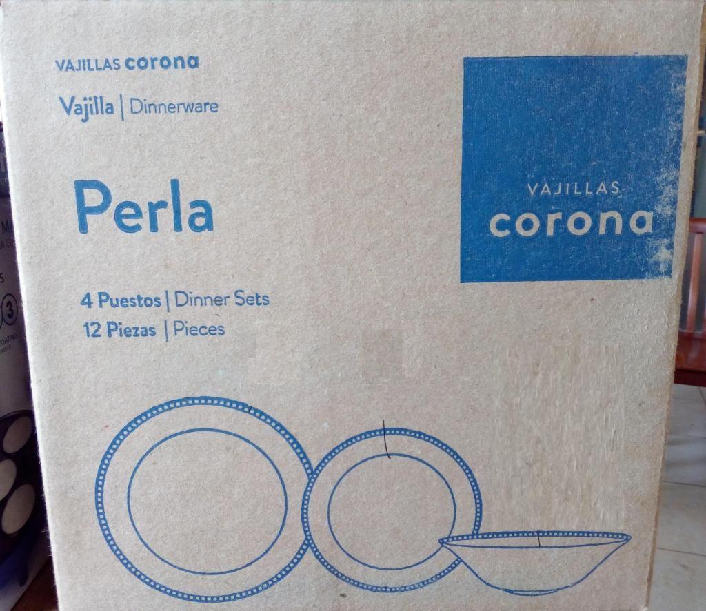 Nuevo Vajillas corona Dinnerware