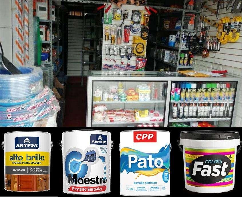 Remato Stock de FERRETERÍA y PINTURA x Cierre de Local